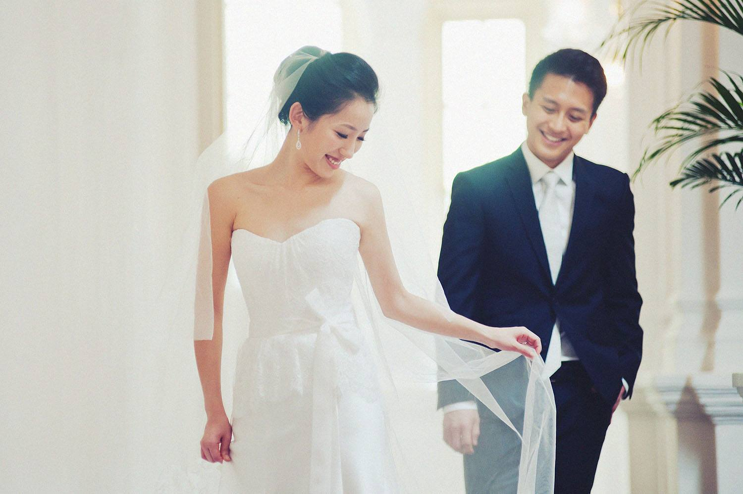 Korean bride's Sinagpore Pre-wedding