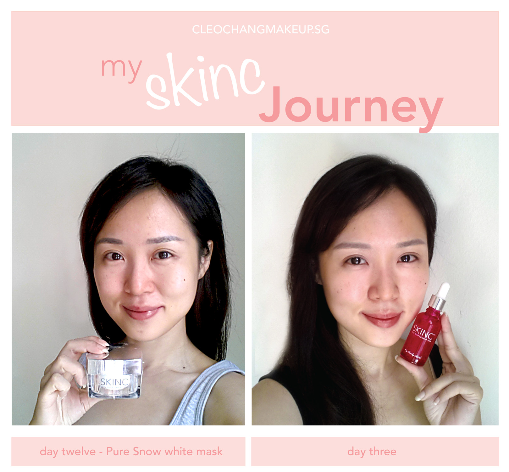 Skin Inc products//review