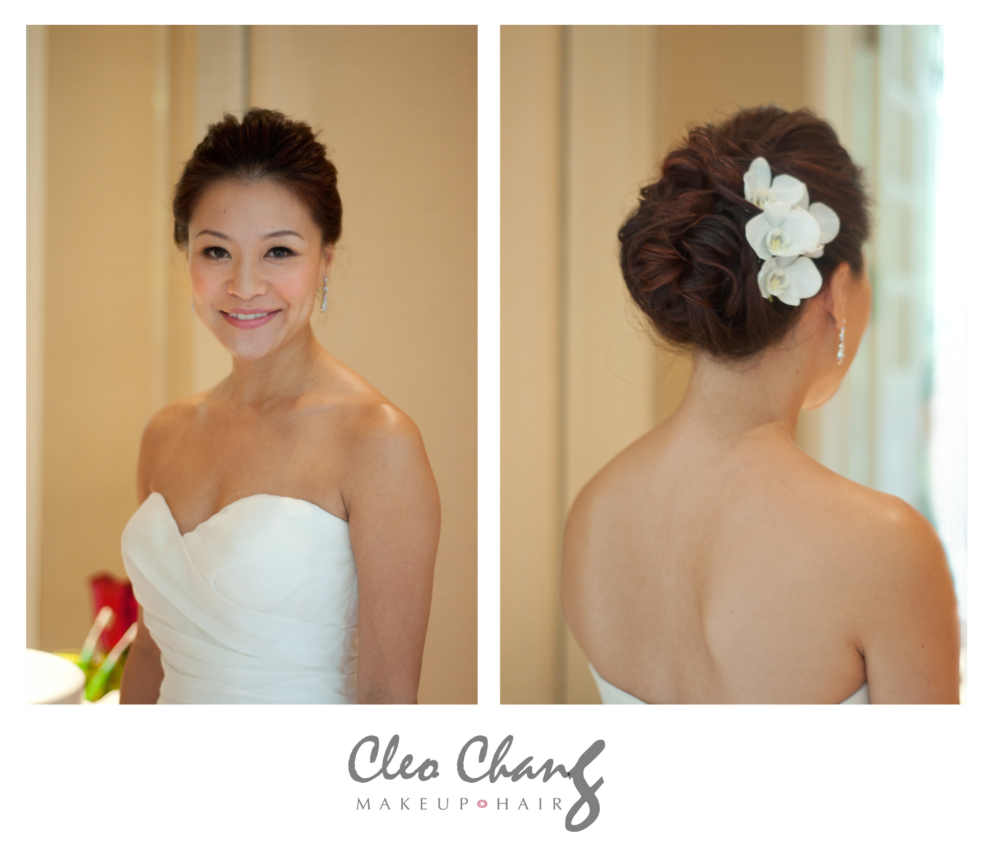 hair styling course singapore elaine married cleo chang bridal makeup amp hair artist 7425
